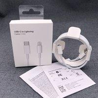 Original 1M / 3FT USB C PD-Fast-Ladekabel Typ C bis 8Pin-Ladekabel für iPhone 11 12 13 Pro max 18W 20W USB C-Adapter mit Verpackung