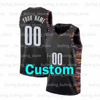 2021 Özel DIY Tasarım Basketbol Formalar Tank Tops Erkek Atletik Takım Adı Üniformalar Baskılı Dikişli Kişiselleştirilmiş Harfler ve Numarası Boyutu S-XXL Turuncu Hızlı Kuru