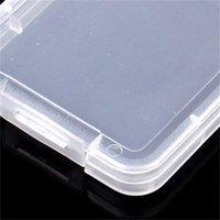 Paramparça Konteyner Koruma Kılıf Kartı Konteyner Hafıza Kartı Kutuları CF Kart Aracı Plastik Şeffaf Depolama Kolay Taşıma 293 R2