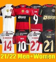 Flamengo Futbol Formaları 2021/22 Diego E.Ribeiro Gabriel B. Gabi Futbol Gömlek Mathheuzinho Gerson Pedro De Arrascaeta Jersey Adam Kadınlar Camisa Mengo