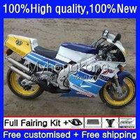 Body Kit For SUZUKI RGV250 SAPC RGVT250 Blue yellow VJ21 250CC 1988 1989 1990 1991 1992 1993 Bodywork 31No.99 RGVT RGV 250 RGVT-250 RGV-250 VJ22 88 89 90 91 92 93 Fairing