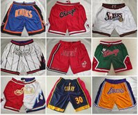 2021 Equipo de baloncesto para hombre Just Don Pantalones cortos Pantalones cortos con cintura elástica en Tamaño S-Tamaño 2xl Moda Sport Style Shorts Pantalones de Baloncesto Mix Orden