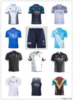 Fiji Home Away Rugby Jersey Sevens Camisa Olímpica Tailândia Qualidade 19 20 21 Fiji National 7's Rugby Jersey S-3XL