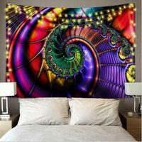 Красочный гобелен стена дома стены висит 150 * 130см гобелены декор для спальни гостиной 30 стилей йога многофункциональный мат DHA4477