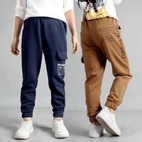 Children's jeans Boys Sport Pants Autumn Children Letter Print Long Pant Fashion Big Kids Clothing Toddler Baby Trousers 4 8 12 14T