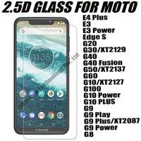 2.5d 0.33 ملليمتر الزجاج المقسى حامي شاشة الهاتف ل موتورولا موتو e4 e3 حافة s g20 g30 g40 الانصهار g50 g60 g10 g100 g9 power play plus g8