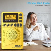 Radio DAB-P9 Digital Pocket Mini 1.44 Inch LCD Display Portable FM MP3 Player Support TF Card For Sports Running Fitness