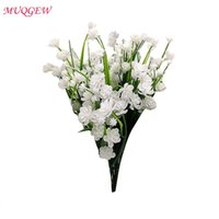 Decorative Flowers & Wreaths Artificial Room Decoration Outdoor Anti Ultraviolet Plant Plastic Greening Fake Daffodils