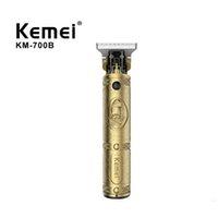 Kemei Barbiere Shop Testa di olio 0mm Trimmer per capelli elettrici Professionale Taglio per capelli Shaver Carving Hair Be Be Beed Machine Styling Tool Razor