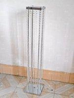 Party Decoration Customized Acrylic Crystal Wedding Columns mandap pillars For Sale,wedding Decor Modern Column Roman Pillar