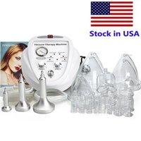 Voorraad in de VS Vacuüm Massagetherapie Machine Vergroting Pomp Opheffende Borstversterker Massager Cup en Body Shaping Beauty Apparaat