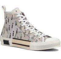 Hombres de alta calidad zapatos de mujer zapatillas de deporte zapatillas de deporte de cuero bordado entrenadores clásicos amante entrenador con caja home011 011