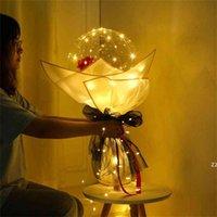 LED مضيئة روز بالون زهرة باقة بوبو الكرة اقتراح الزفاف عيد الحب عيد الأم حزب ديكور الذكرى