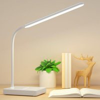 Table Lamps Usb Charging Desk Lamp Led Eye Protection Dimmable Reading Light Student Study Night Touch Switch Folding