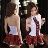 Sexy School Girl Costume Lingerie Student Schoolgirl Uniform Cosplay Erotic Lingeire Rol Play Ropa interior