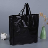 선물 포장 사용자 정의 인쇄 플라스틱 포장 쇼핑 가방 손잡이, 맞춤형 의류 / 의류 / 선물 포장 가방 LZ0773 6S69
