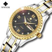 럭셔리 남성 및 여성 시계 디자이너 브랜드 시계 et e ocier inoxydable out femmes, Marque de Luxe, 가운 Diamant, 석영, 대도