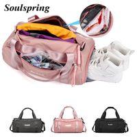 Duffel Bags 2021 Sports Bag Training Gym Men Woman Fitness Durable Multifunction Handbag Outdoor Sporting Tote Travel