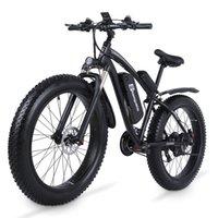 Shengmilo MX02S Elektrische 1000W Mountainbike 17ah 48V Li-Ion-Stadt Fettreifen Fahrrad E-Bike Beach Cruise Unisex