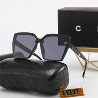 2021 Concepteur Square Sunglasses Hommes Femmes 4382 Vintage Shades Conduite Polarisée Mâle Sun Lunettes Mode Métal Plank Lunettes