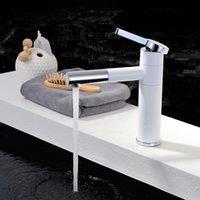 Banyo Lavabo Bataryaları Beyaz Boyalı Havzası Musluk Soğuk Mikser Dokunun Pişirme Bitirmek Torneira Cozinha