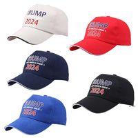 Trump 2024 Baseball Hat Summer Sun Shading Hats With Adjustable Strap Party Cap EWA6321