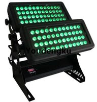 Effetti Waterproof Wall Washer RGBWA UV LED DMX 96x18W 6in1 Full Color Outdoor Building City Light
