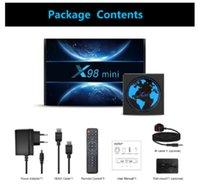 X98 MINI Amlogic S905W2 TV Box Android 11 Quad Core 4G 32G 2.4G&5G Dual Wifi BT 100M 4K Smart Media Player X98Mini