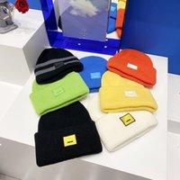 محبوك قبعة قبعة قبعة القبعات الأزياء خليط تصميم للرجل امرأة الشتاء كاب 7 ألوان عالية الجودة