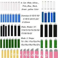 Tattoo Needles Disposable 12- Sloped Permanent Makeup Manual Eyebrow Needle Embroidery Arc Blade