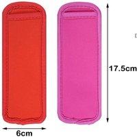 Antifreezing Popsicles Mangas de Sorvete Ferramentas Popsicle Suportes Saco de Isolamento NHE7056