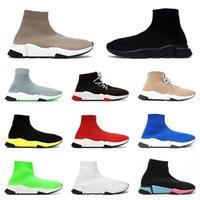 2021 رجل إمرأة جورب أحذية مصمم منصة أحذية رياضية رياضية غير رسمية ثلاثية البيج الأسود étoile خمر شقة Luxurys الجوارب الأحذية العدائين في الهواء الطلق 36-45