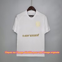 2021 2022 Atlético Argentina Terceiro Away Branco S-XXL Masculino Masculino Qualidade 1: 1 Roupas de Futebol
