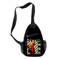 Cross Body Denki Kaminari Sports Leisure Men's And Women's Single Shoulder Bag Waist