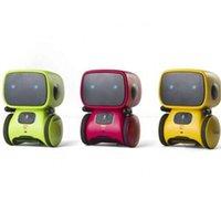 Barn smart talande robotar, intelligent partner och lärare, med röststyrd och beröringssensor, sång, dans, upprepa H1009