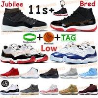 2021 اليوبيل الذكرى 25th bred 11 11s أحذية كرة السلة الرجال النساء عالية كونكورد جاما الأزرق الفوز مثل 96 بارد رمادي منخفض رياضية رياضية