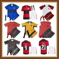 N EW 2021 2022 Flamengo Futbol Formaları Flamenko Camisetas De Fútbol Gabriel B. Diego 21 22 Pedro Gerson Erkekler Çocuklar Kadın Futbol Gömlek