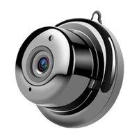 Camcorders US UK EU Plug Wireless Mini WIFI Camera AP Spot Remote Monitoring Night Vision Monitor Motion Detection Home Webcam
