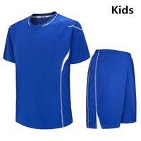 Crianças Futebol Jerseys Em Branco Futebol Futebol Maillot De Foot Survego Futebol Jersey Sport Fute Ternos Treinamento Ternos
