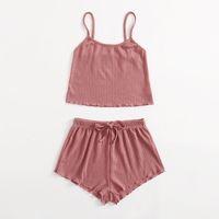 Pajamas Set for Women Soft Comfortable Short Mouwen T-shirts and Shorts Summer Loose Homewear