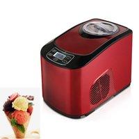 Machine à glace automatique à la crème glacée à la maison Dur Du Hard Glace Machine 1.5L Capacité 140W Contrôle intelligent Italienne Crème glacée
