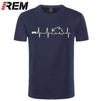 REM NIEUWE COOL T-shirt T-shirt Japan Motorfietsen Heartbeat GSXR 1000 750 600 K7 210324