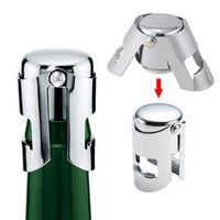 Портативная нержавеющая сталь вина стоповая панель инструменты шампанского пробки уплотнительная машина сверкающий винодельник wll594