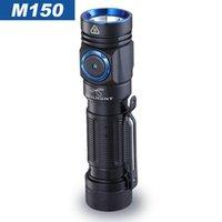 Versão de Atualização Skilhunt M150 V2.0 Cree XP-L2 LED 750 Lumens USB Lanterna de carregamento magnético com 14500 baterias 210322