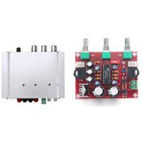 Portable Speakers Car Auto DX-210 2.1 Channel Bass Power Hifi Stereo Speaker & XR1075 Tone Board BBE Digital Audio