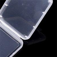 تحطيم حاوية حماية حالة بطاقة الحاويات صندوق بطاقة الذاكرة cf بطاقة أداة البلاستيك تخزين شفافة سهلة حمل 293 R2