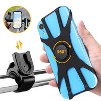 Detachable 360 Degree Rotatable Bike Phone Mount Bicycle Motorcycle Handlebar Holder for iPhone Samsung Smartphones