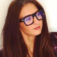 للجنسين الضوء الأزرق حظر نظارات الإطار المرأة خمر مصمم مكافحة eyestrain مربع الكمبيوتر نظارات القراءة النظارات الشمسية