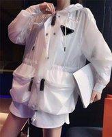 Kadın Ceket Sonbahar Bahar Stil Ince Mektuplar Kemer Bayan Ceketler Için Dış Giyim Ceket Rüzgarlık Klasik Giyim S-L