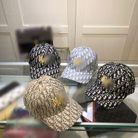 2021 Trendy Erkekler Beyzbol Şapkası Siyah Hip Hop Kadın Tasarımcılar Kapaklar Şapka Nakış Mens Yaz Moda Tasarımcısı Cappelli Firmati